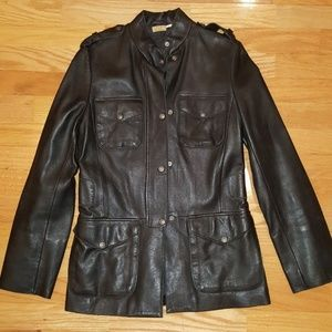 MaxStudio Leather Jacket